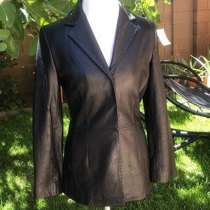 Mossimo Leather Blazer Jacket